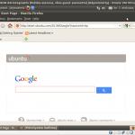 VirtualBox running Ubuntu